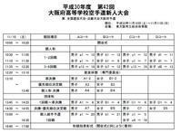 大阪府高校新人大会 10・11日に開催 - 大阪学芸 空手道応援ブログ