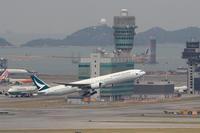 香港国際空港観景山から撮ったR/W07R離陸機⑭ - 飛行機&鉄道写真館