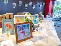 パステル和アート展、今日から始まりました♥ - アトリエ絵くぼの創作日誌