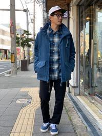 BRUM JACKET~BLUE GRAY~ - DAKOTAのオーナー日記「ノリログ」