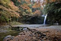 横谷峡四つの滝白滝 - 尾張名所図会を巡る