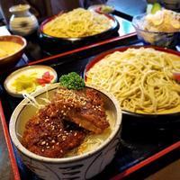 蕎麦・とんかつ 蕎蔵兎月 * トンカツが美味しいおそば屋さん? - ぴきょログ~軽井沢でぐーたら生活~