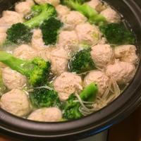 今日の晩ごはん「鶏団子とブロッコリーの鍋」 - 野口家のふだんごはん ~レシピ置場~