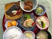 塩鯖のレモンバター焼★(^^♪・・・・・700円ランチ - 日だまりカフェ