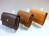 財布・・化学繊維・布とは異なる感覚で - 革小物 paddy の作品