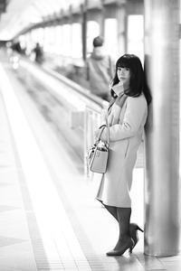 あみちゃん227 - モノクロポートレート写真館