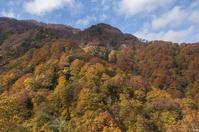 秋の冠林道と晩秋の冠山 - 四季燦燦 癒し系~^^かも風景写真