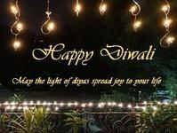 Happy Diwali 2018 - Blue Lotus