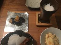 秋の日本酒でおうち居酒屋 - 来客手帖~ときどき薬膳