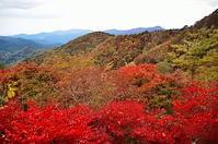 奥多摩紅に染まる秋の山 - 風の香に誘われて 風景のふぉと缶