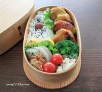 タンドリーチキン弁当 - 男子高校生のお弁当