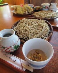 蕎麦の茶屋 丸山 * 湯の丸高原の黄葉と新蕎麦♪ - ぴきょログ~軽井沢でぐーたら生活~