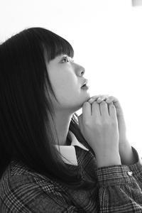 川本好華ちゃん21 - モノクロポートレート写真館