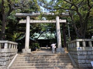 大井鹿嶋神社と境外末社の水神社 - 御朱印の森