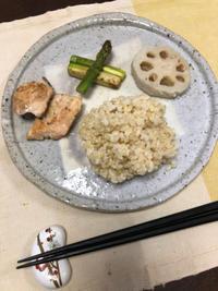 アスパラのソテー - 庶民のショボい食卓