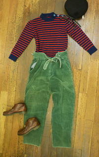 Coodinate Corduroy pants - carboots
