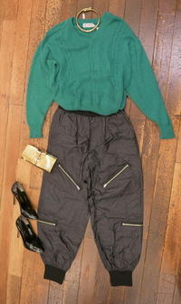 Coodinate Issey pants - carboots