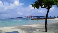首都マレの人口ビーチ - モルディブ現地情報発信ブログ 手軽に気軽に賢く旅するローカル島旅!