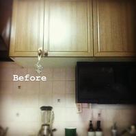 kitchen DIY & プチリフォームつづき - galette des Rois ~ガレット・デ・ロワ~