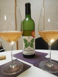 奥野田ワイナリーの奥野田ビアンコ、飲みます! - のび丸亭の「奥様ごはんですよ」日本ワインと日々の料理