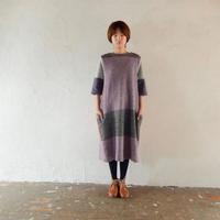 takuroh shirafuji 『Wool Multicolor Balloon Dress』 - SHIRAFUJI-BLOG