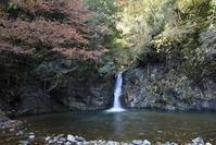 横谷峡四つの滝紅葉滝 - 尾張名所図会を巡る