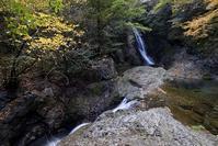 横谷峡四つの滝鶏鳴滝 - 尾張名所図会を巡る
