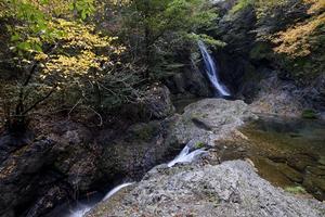 横谷峡四つの滝 鶏鳴滝 - 尾張名所図会を巡る