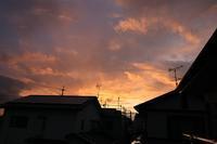 夕焼けと虹と飛行機雲♪ - happy-cafe*vol.2