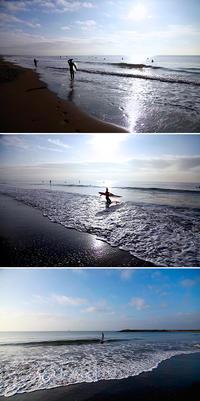 2018/11/10(SAT) 雨上がり青空広がる海辺では.......。 - SURF RESEARCH