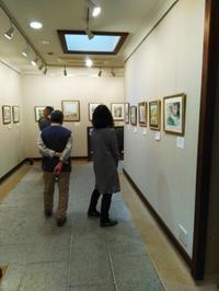 個展3日目の会場風景 - ryuuの手習い