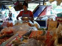 671日目・市場のモヤシ売場 - プラチンブリ@タイと日本を行ったり来たり