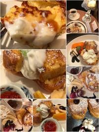 挫折中のフレンチトースト「試作・試食の足跡見~~~っけ」編 - 納屋Cafe 岡山
