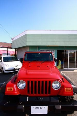 フレームレッドTJご納車完了しました - TrampCAR SQUARE ~Jeep wrangler~ [SS]