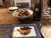 ある日の食卓〜アーサーメッツのクレマン - 大好きなワインと素敵な食卓