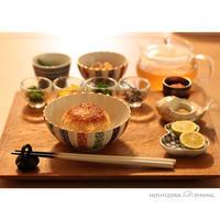 焼きおにぎりで出汁茶漬け - HOSHIZORA DINING