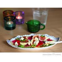 イチジクとビーツのサラダ - HOSHIZORA DINING