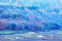妙高高原 乙見湖の紅葉 1 - 光 塗人 の デジタル フォト グラフィック アート (DIGITAL PHOTOGRAPHIC ARTWORKS)