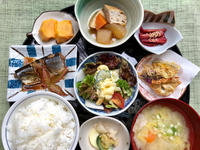 秋刀魚の煮付け★(^^♪・・・・・700円ランチ - 日だまりカフェ