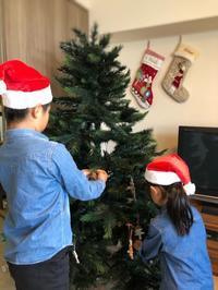 【クリスマスインテリア】まずはリビングにツリーを出しました。オーナメントは毎年少しずつ♪ - イロトリドリノ暮らし~シンプル×北欧モダン~