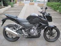 CB250F入荷 - バイクの横輪
