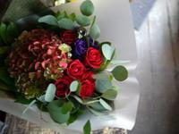 撮影のクランクアップの花束。平岸4条にお届け①。2018/11/06。 - 札幌 花屋 meLL flowers