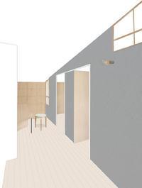 2階のワークスペース&子供室 - kukka  kukka