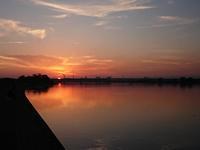 紀ノ川の夕暮れ<●> - 第3の釣り
