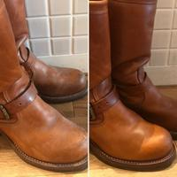 【Before/After】CHIPPEWAエンジニアブーツクリーニングAfter - Shoe Care & Shoe Order 「FANS.浅草本店」M.Mowbray Shop