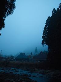 今朝も濃い霧・・・小入谷林道は通行止め朽木小川・気象台より - 朽木小川・気象台より、高島市・針畑・くつきの季節便りを!