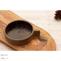 ちいさな焼き菓子用皿 - BEAN ART Cafe  - Mami . N -
