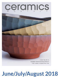 Ceramic monthly  June-july-august-2018  Published - 陶芸・器・フォーシーズンズポタリー
