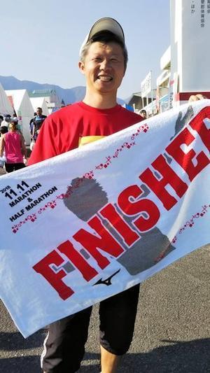 はなちゃん 揖斐川マラソン完走‼ - はなちゃんの日記