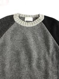 soglia エルボーパッチ ラドナーセーター クレイジーパターン - 【Tapir Diary】神戸のセレクトショップ『タピア』のブログです